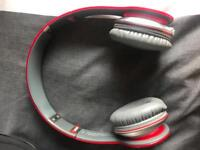 Beats solo hd (red) wired headphones *read description*