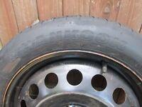 "Volvo V70 S60 S80 etc. MK2 - 17"" Space Saver Wheel with Hankook Tyre"