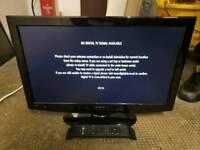 "Hitachi Super slim 22"" USB HD LED TV. + Free Delivery"