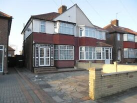 Three Bedroom Semi-Detached House to rent in Sheaveshill Avenue, NW9 6SD