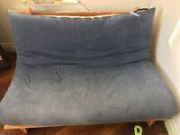Blue futon £10