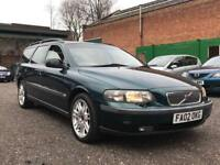 2002 Volvo v70 2.4 D5 Se auto estate 7 seater Automatic - Leather - Fsh