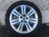 17INCH 5/110 VAUXHALL GENUINE ALLOY WHEELS WITH TYRES FIT MOST MODELS