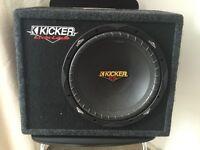 Kicker ES124 Subwoofer