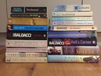 18 Various novels
