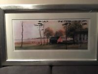Pair of Framed Ron Banning Prints