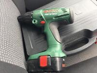 Bosh 18 volt battery Drill