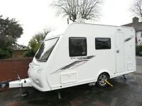 ELDDIS XPLORE 304SE 2012 LIGHT WEIGHT 4 BERTH CARAVAN WITH MOTOR MOVER AND IMMACULATE