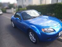 Mazda MX5 only 21000 miles. Motd. Immaculate condition.
