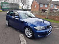 2007 BMW 118D M SPORT,6 SPEED MANUAL,2 FORMER KEEPERS, 07512555462