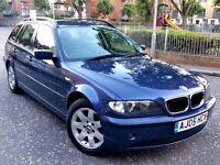 bmw 316i se 2005 estate blue Excellent condition final edition