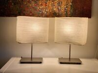 2 x Magnarp table lamps