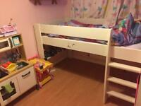 Steens midsleeper single bed already dismantled