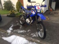 Yamaha WR 125 R With Scorpion Exhaust
