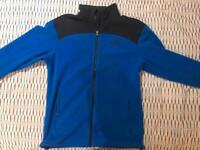 Northface mens zippy fleece, size SMALL ( Genuine, Mint condition)