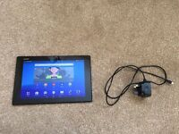 Sony Xperia Z2, 10.1 inch Tablet, 16GB, 4G Locked to O2. Includes charger and 64gb Sandisk SDXC Card