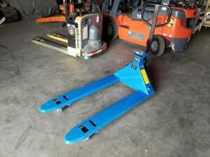 Global Pallet Truck w/ Scale - 5500 lbs Capacity - Only $998.00!