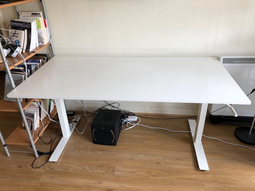 Ikea Skarsta Sit Stand Desk 160 X 80 Cm In Canary Wharf