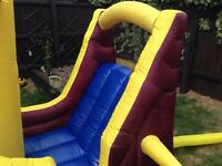 Pirate boat bouncy castle
