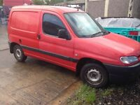 peugeot partner van 1.9 diesel gearbox 2002/parts/spares/repairs