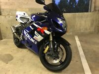 Suzuki GSXR 600 with new tyres, very well looked after bike