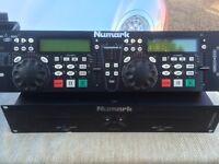 Nemark CDN88 duel CD player