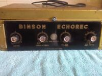 Wonderful Early Binson Echorec B1S Rare Model Echo Delay Unit