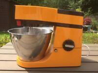 Kenwood Chef A901 (Orange colour) + Accessories