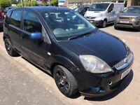 Ford Fiesta Zetec Climate 1242cc Petrol 5 speed manual 5 door hatchback 08 Plate 31/03/2008 Black