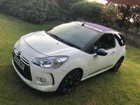 CITROEN DS3 DSTYLE 1.6 HDI DIESEL CONVERTIBLE ONLY 19,000 MILES FULL HISTORY!