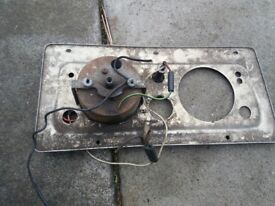 Landrover series 2a dash panel
