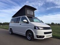 Vw T5 Camper Van, Volkswagen T5 Camper, Fridge, Cooker, Poptop, New Conversion