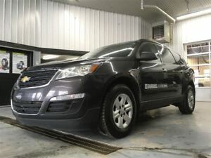 2015 Chevrolet Traverse LS + AWD + 8 PASSAGERS