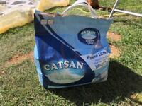 Free bag of catsan