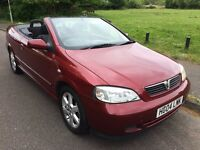 Convertible Astra in Excellent condition for year. 10months MOT