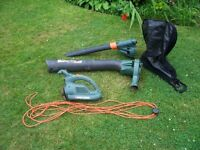 Black and Decker Blower and Vac