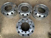 aluminium truck wheels x4