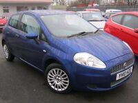 FIAT PUNTO GRANDE ACTIVE 2010 10 REG,BARGAIN £1495 CARDS & PX WELCOME