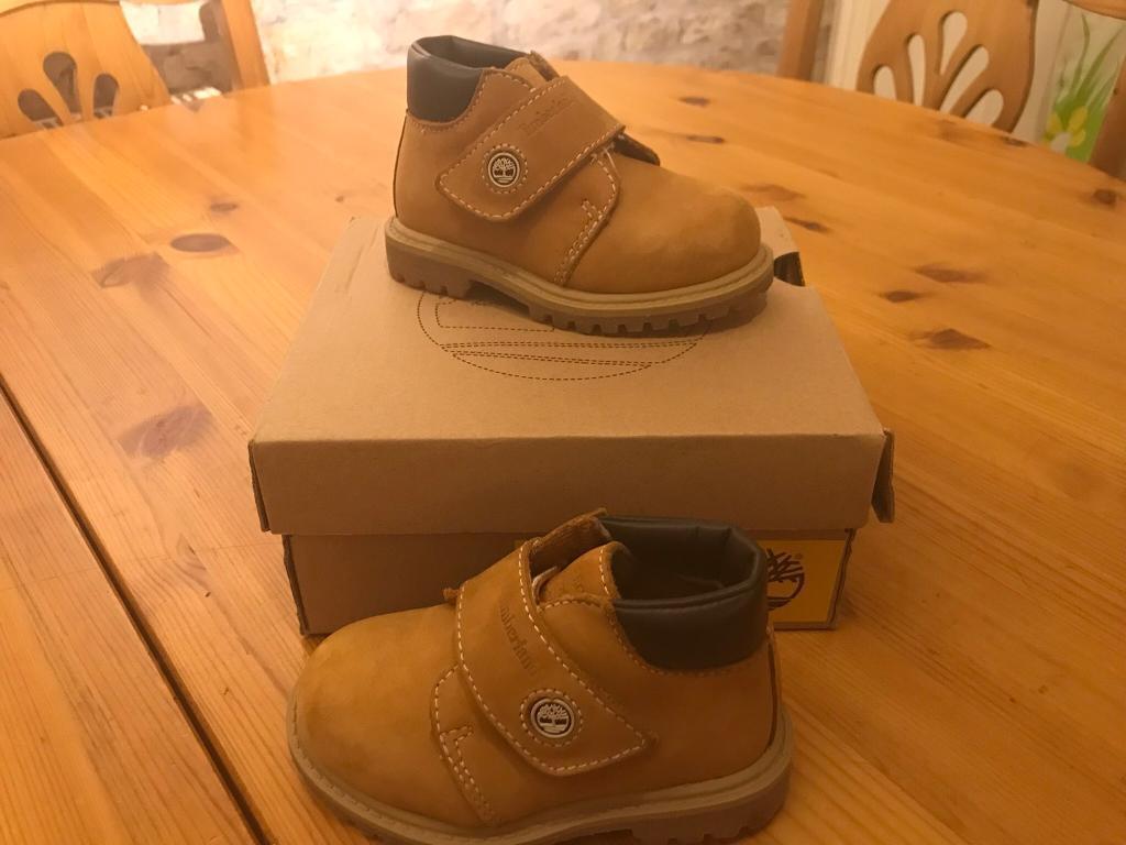 Timberland chukka boots infant size 5 (EU22)