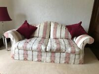 REDUCED PRICE Quality Duresta 3 piece suite for sale at a bargain price.
