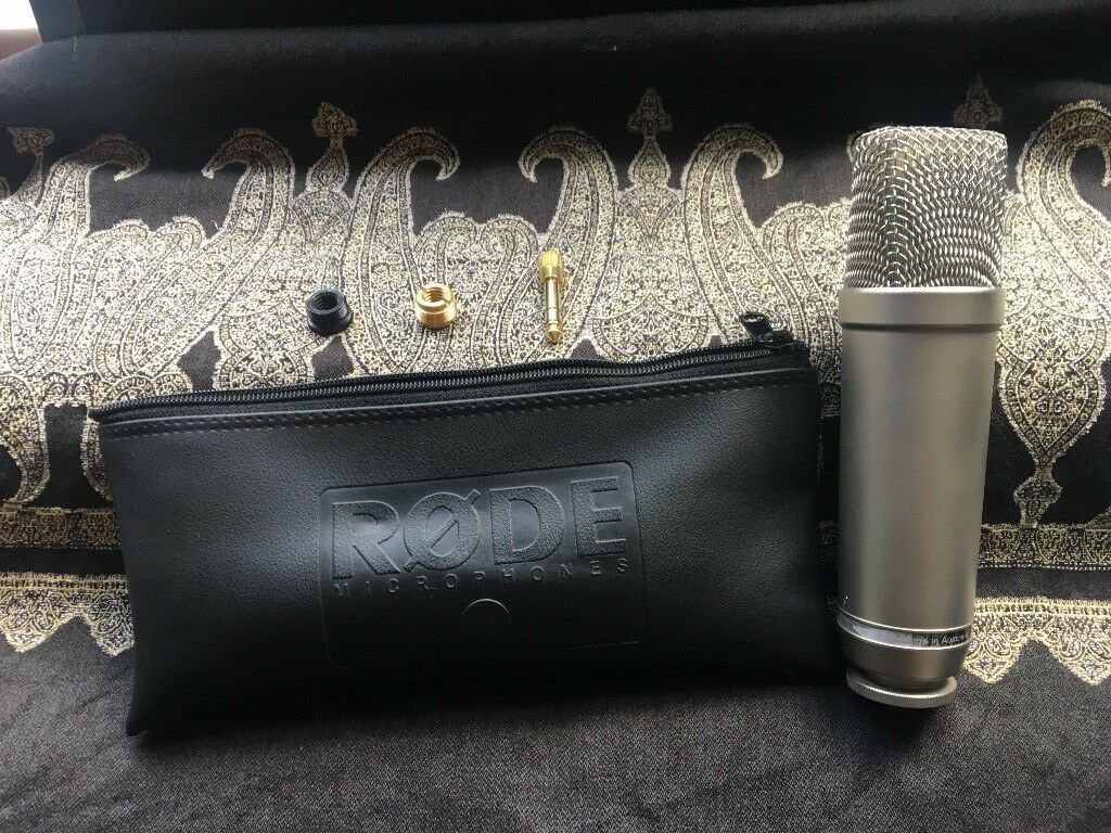 RODE NT-1A Condenser Microphone - Vocal Recording Pack