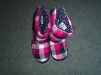 Fat Face boot style slippers size medium 38-39