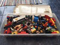 Variety box of lego