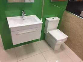Square Vanity Toilet Deal