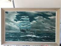 Very large picture of teaclipper ships