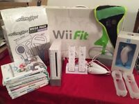 Nintendo wii for sale with all the trimmings