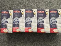 Set of 5 Nuby Natural Touch Anti-Colic bottles – BNIB - £12.50