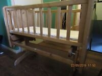 used baby cots bed