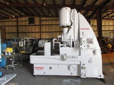 Mattison Rotary Surface Grinder Model 24-36 With 40 Chuck