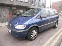 Automatic 7 seater Vauxhall Zafira Auto Long MOT not touran sharan galaxy MPV